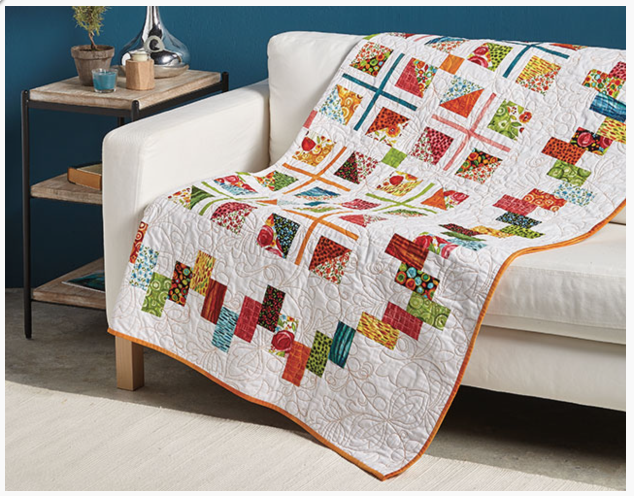Learn to Make Scrappy Borders online class – Annie Smith : learn how to quilt online - Adamdwight.com